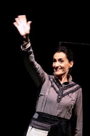 Anna Maria Bardeloni nello spettacolo Scintille