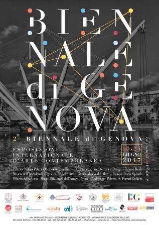locandina della Biennale di Genova