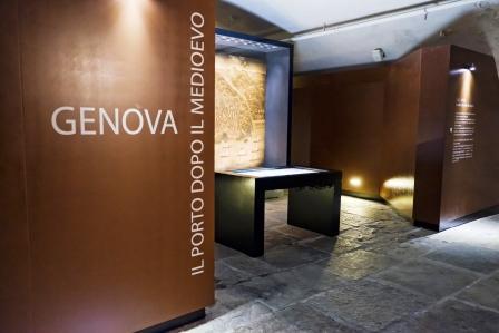 """Sala """"Genova dopo il Medioevo"""" al Galata - foto di Unitre"""