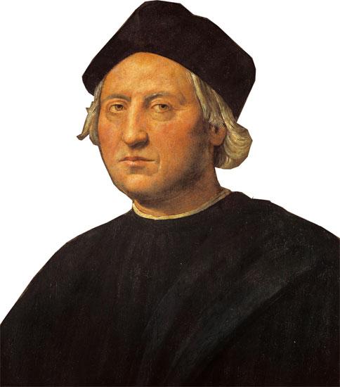 Ritratto di C. Colombo attribuito al Ghirlandaio