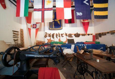 sala delle bandiere