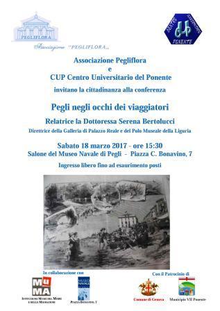 locandina della conferenza di Serena Bertolucci