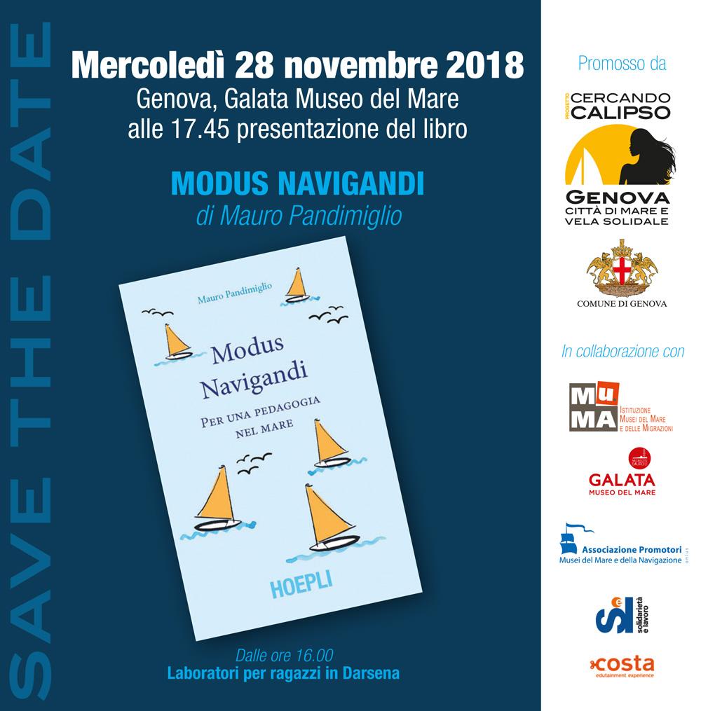 presentazione libro Modus Navigandi