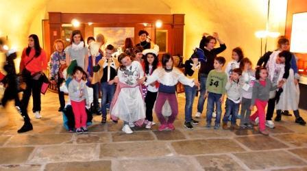 foto di un laboratorio per bambini al Galata