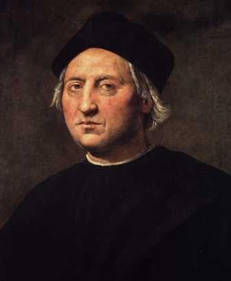 ritratto di Colombo attribuito al Ghirlandaio