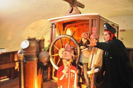 foto del laboratorio sui pirati