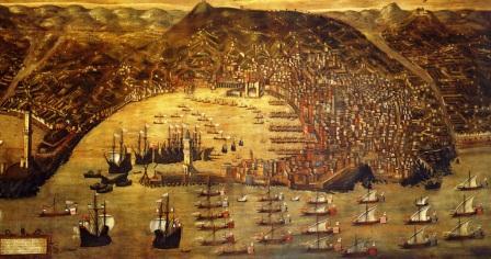 Il porto di Genova di Cristoforo Grassi