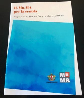 brochure delle proposte didattiche del Mu.MA