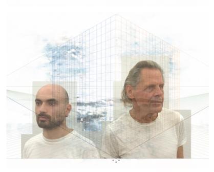 Paolo Tarsi e Emil Schults dei Kraftwerk