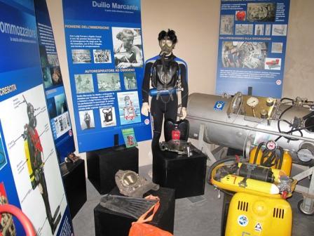 foto di attrezzature subacquee
