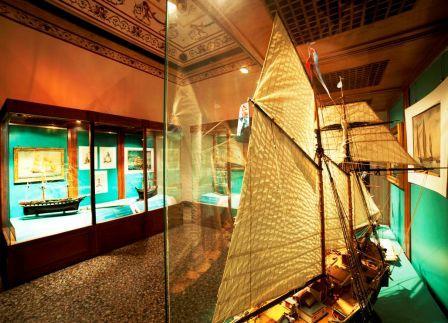 sala del Museo Navale