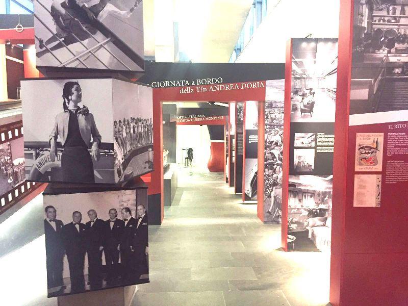 immagine della mostra dell'Andrea Doria