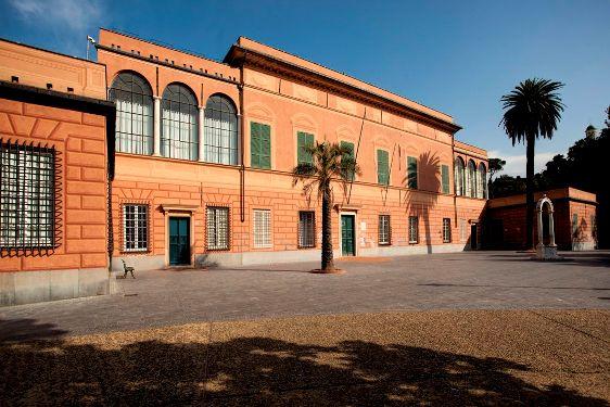 prospetto del museo Navale di Pegli