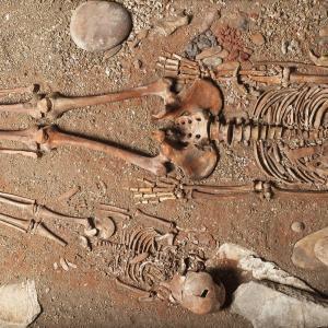 Necropoli Epigravettiana dalla Caverna delle Arene Candide