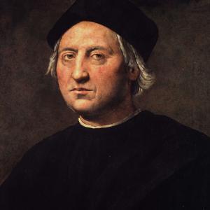 """Il Ghirlandaio, attribuito, """"Ritratto di Cristoforo Colombo"""""""