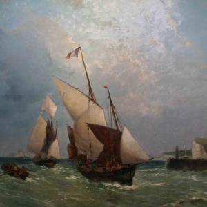"""Gaston Roullet """"Barche de pesca"""""""