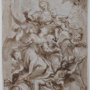 Madonna col Bambino e Santa Caterina Fieschi