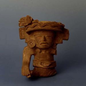 Vaso antropomorfo (mutilo), (Aztechi/ Zapotechi), Messico
