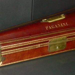 The custody of N.Paganini 's violin