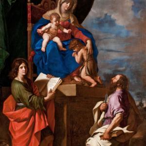 Madonna col Bambino, San Giovannino e i Santi Giovanni Evangelista e Bartolomeo