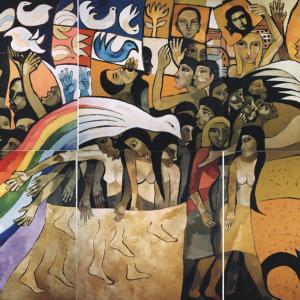 Mural El Grito de los Excluidos / 2