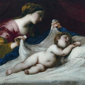 Madonna del velo  (circa 1650-1655)
