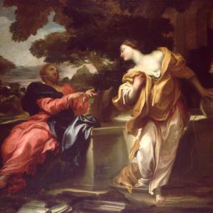 La Samaritana al pozzo