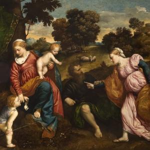 Matrimonio mistico di S. Caterina