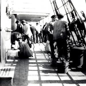 Pontile della nave