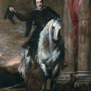 Anton Giulio Brignole-Sale a cavallo (1627)