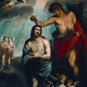 Battesimo di Cristo (circa 1620-1621)