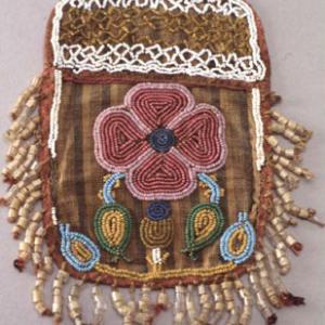 Parte di borsina femminile, 1885 circa (Dakota dell'Est - Santee)