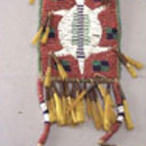 Borsina femminile, fine '800 (Dakota dell'Est, Yankton)