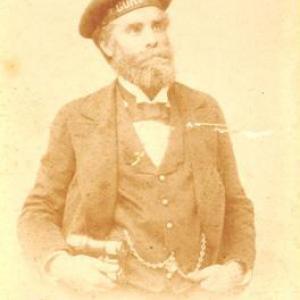 Il Capitano con cappello Corsaro  (1882-1895)