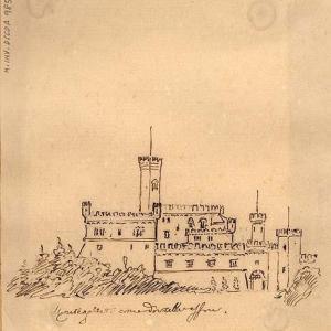 Castello e bastione visto da nord