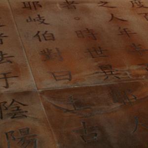 Huangdi Neijing 黃帝內經 - Canone Interno dell'Imperatore Giallo, II - I sec. a.C (part.).