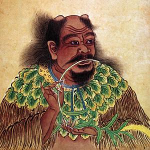 "Shennong 神農 ""il divino agricoltore"""