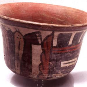 Coppa campaniforme, 0 – 125 d.C. (Nasca 5)