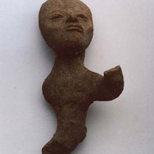 Figurina votiva antropomorfa (mutila),  V–VI sec. d.C. (Teotihuacán III), Messico