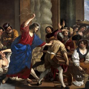 Cristo scaccia i mercanti dal tempio