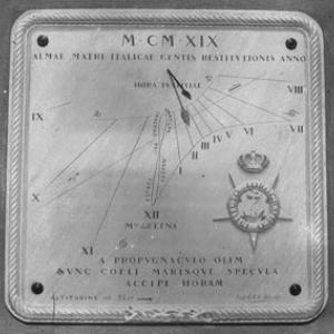 Meridiana per Istituto Idrografico
