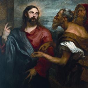 Cristo della moneta (1625 circa)