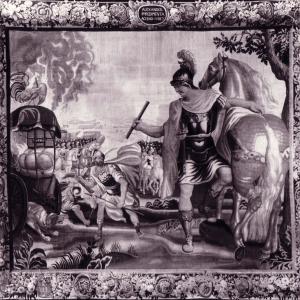 Arazzo con le storie di Alessandro Magno