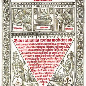 Liber canonis medicinae