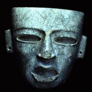 Maschera funeraria, V - VII secolo d.C. (Teotihuacán III - IV), Messico