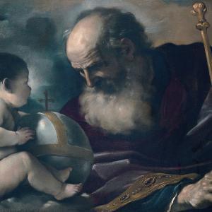 Padre Eterno con un angioletto (1620)