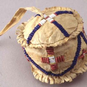 Pallina giocattolo, 1880 circa (Dakota dell'Est)