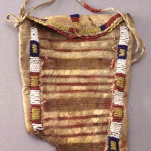 Pannello di borsina femminile,  1880 circa (Dakota dell'Est, Yankton)