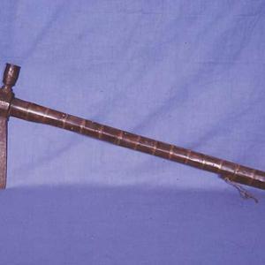 Pipe tomahawk (ascia-pipa), 1860 – 1870 circa (Teton Dakota)