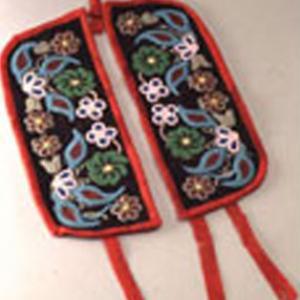 Polsini decorativi, 1880 circa (Ojibway)